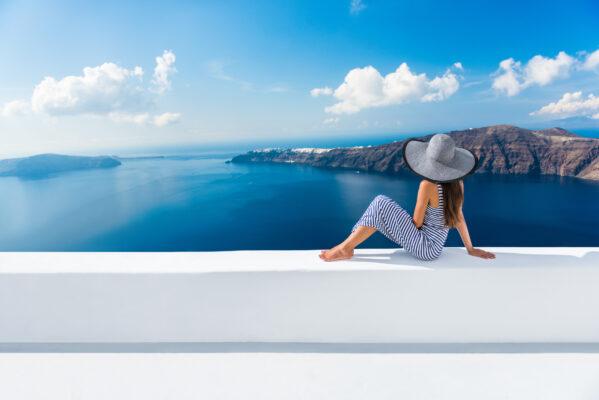 Santorini Frau