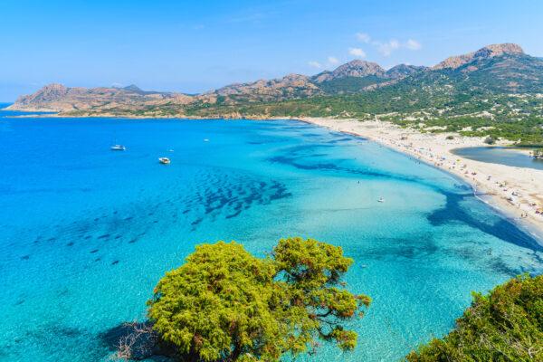 Korsika Meer Ausblick