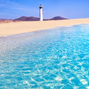 Lastminute: 7 Tage Fuerteventura im 4.5* Hotel mit All Inclusive, Flug, Transfer & Zug nur 394€