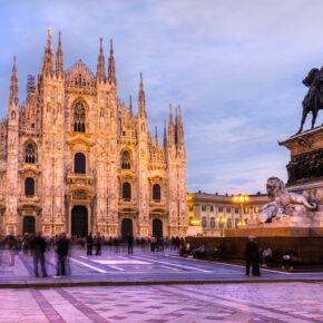 Tagestrip nach Mailand: Flüge hin & zurück nur 35€