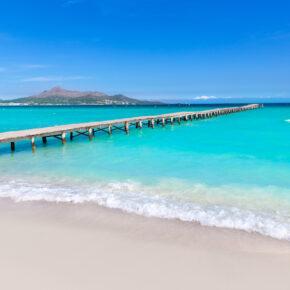 Frühbucher: 7 Tage Mallorca im 4* Hotel mit All Inclusive, Flug & Zug nur 355€