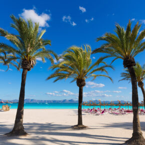 Mallorca: 7 Tage in Cala Ratjada im 4* Hotel mit Frühstück, Flug, Transfer & Zug nur 254€