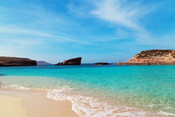 Malta Strand und Meer