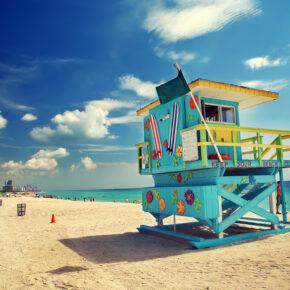 6 Tage Miami Beach im guten 3* Hotel mit Direktflug nur 382€