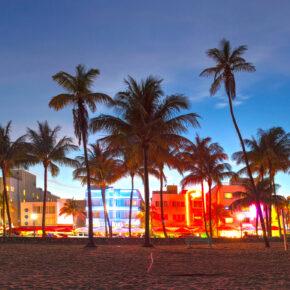 6 Tage Miami Beach mit Strandunterkunft, Halbpension & Flug 390 €