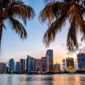 2021 im Sunshine State: Hin- & Rückflüge nach Miami nur 181€