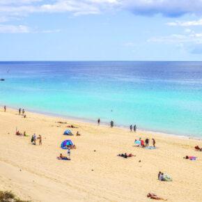 Kanaren im Winter: 7 Tage im 4* All Inclusive Hotel auf Fuerteventura mit Flug, Transfer & Zug nur 399€