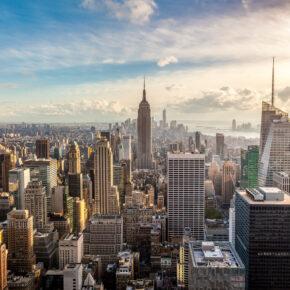 Frühbucher: 8 Tage New York City im TOP 3* Hotel mit Frühstück & Direktflug nur 456€