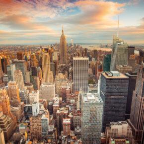 New York, New York: 8 Tage mit TOP Hotel in Manhattan & Flug nur 325 €
