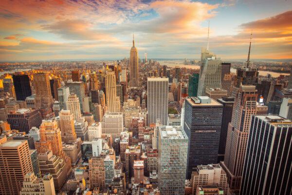New York Sonnenuntergang
