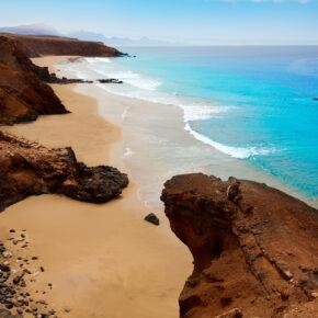 Kanaren-Knaller: 6 Tage Fuerteventura mit Flug, gutem Hotel, Zug & Transfer nur 194€
