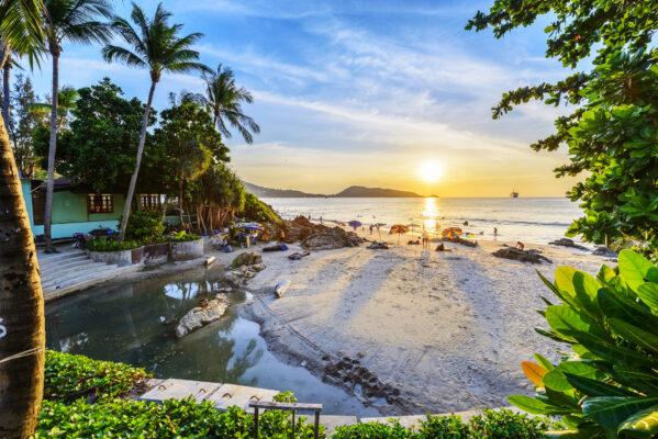 Phuket Patong Beach Sonne
