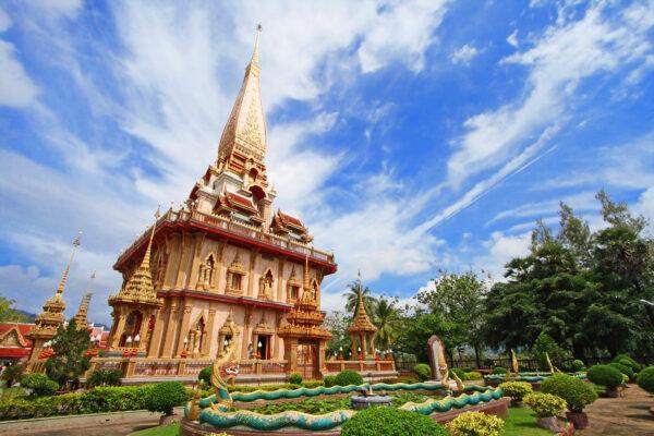 Phuket Wat Chalong Tempel