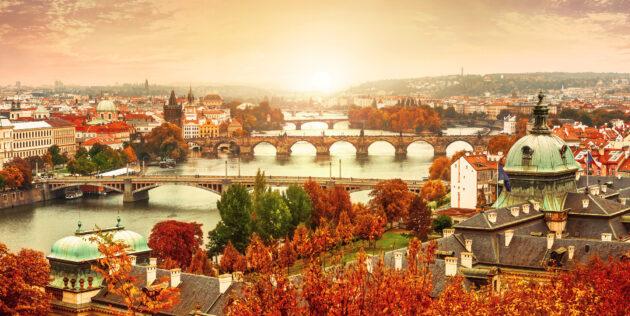 Prag im Herbst