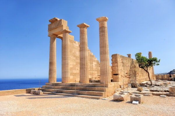 Rhodos Ruinen