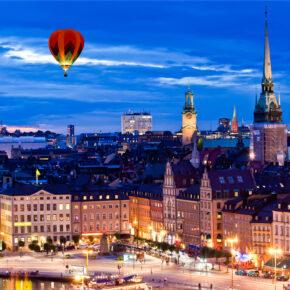 Städtetrip: 3 Tage Stockholm im TOP 4* Hotel inkl. Frühstück & Flug ab 169€