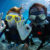 Scuba Diving Paar Tuachen