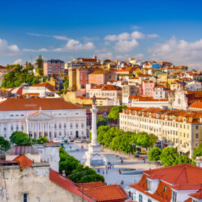 Wochenendtrip: 3 Tage nach Lissabon in zentraler Unterkunft mit Frühstück & Flug nur 41€