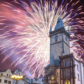 Silvesterparty in Prag: 3 Tage Städtetrip im zentralen 4* Hotel nur 68€