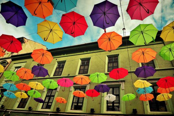 Timisoara Regenschirme