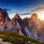 Tirol Sonnenuntergang
