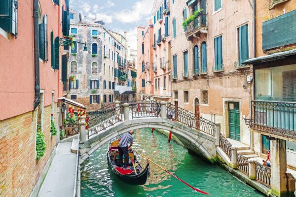 Venedig Gondola Kanal