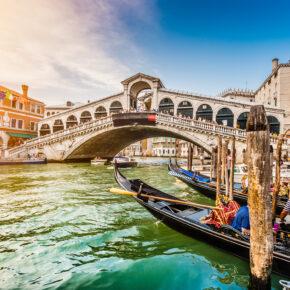 3 Tage nach Venedig mit TOP Hotel, Frühstück & Flug für 95€