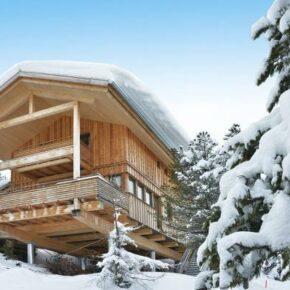 Skiurlaub Deluxe: 8 Tage eigenes Winterchalet in Österreich mit Jacuzzi ab 174€