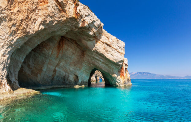Zakynthos Fels an der Küste