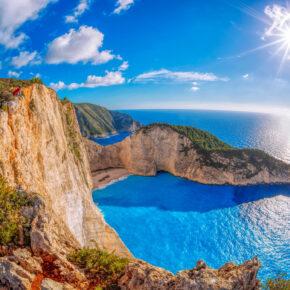 Luxus in Griechenland: 7 Tage Zakynthos im 5* Hotel mit Frühstück & Direktflug nur 282€