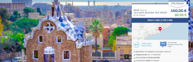 3 Tage Barcelona mit Fahrradverleih