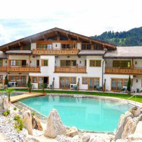 Aktivurlaub & Spa am Wilden Kaiser: 3 Tage in 4.5* Hotel in Tirol inkl. Verwöhnpension & Extras für 169€