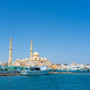 Ägypten im Sommer: 5 Tage Hurghada im TOP 4* Strandhotel mit All Inclusive, Flug & Transfer für 214€