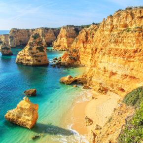 Algarve Frühbucher: 7 Tage Faro im TOP 4* Hotel mit Frühstück, Wellness & Flug nur 225€