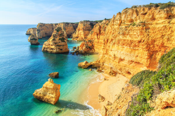 Algarve Meer Ausblick