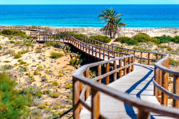 Alicante Weg zum Meer