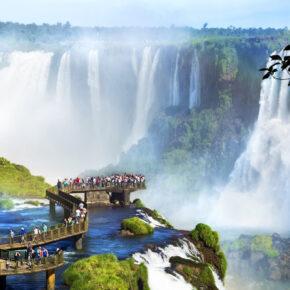 Argentinien Iguazu Brücke