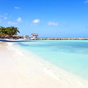 Karibik: 9 Tage Aruba mit 3* Hotel, Flug & Transfer nur 499€