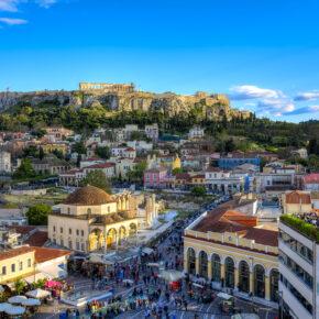 Kurztrip nach Griechenland: 3 Tage nach Athen im TOP 4* Hotel mit Frühstück & Flug nur 90€