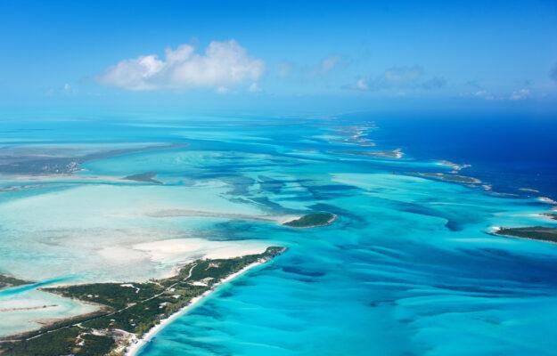 Bahamas von oben