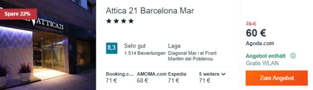 Barcelona Kombi