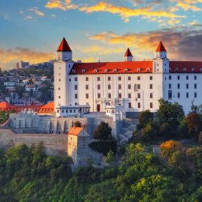 Wochenende in Bratislava: 3 Tage in zentraler TOP Unterkunft mit Frühstück & Flug nur 48€