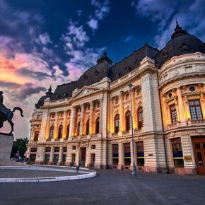 Expedition Bukarest: 3 Tage Wochenendtrip nach Rumänien mit TOP 4* Hotel & Flug nur 70€