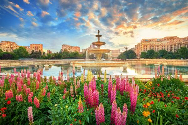 Bukarest Brunnen