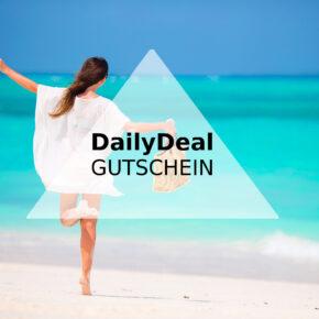 DailyDeal Gutschein: [v_value] auf alle Angebote z.B. Reisen