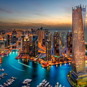 Dubai: 4 Tage im 5* Luxus-Hotel inkl. Frühstück, Emirates-Flug & Transfer für 354€