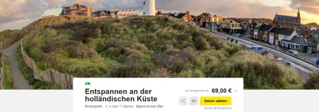 Ferienpark Holland Angebot