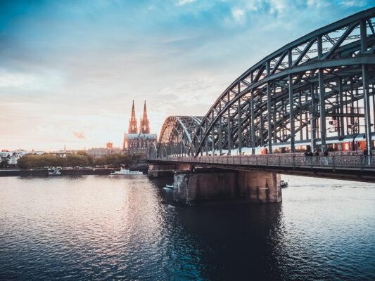 Köln Deutzer Brücke