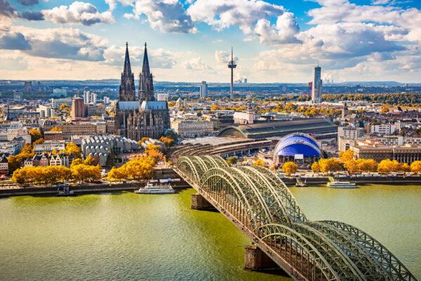 Köln Innenstadt Ansicht