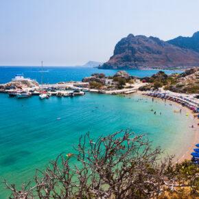 Greek Style: 6 Tage Rhodos im 3.5* Hotel mit All Inclusive, Flug, Transfer & Zug für 272€